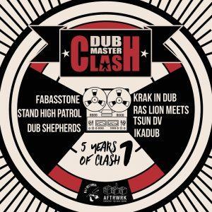 Dub Master Clash 5 Years Of Clash Volume 1 front digi